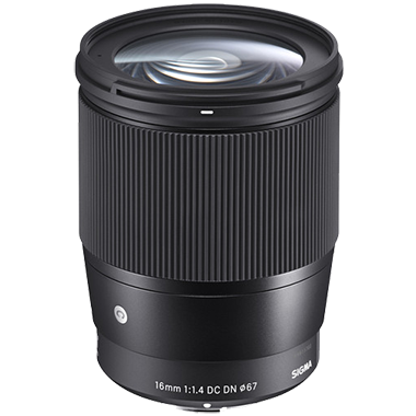Sigma 16mm F1.4 DC DN Contemporary (Sony E-mount)